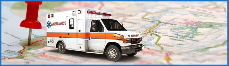 EMS Ambulance GPS